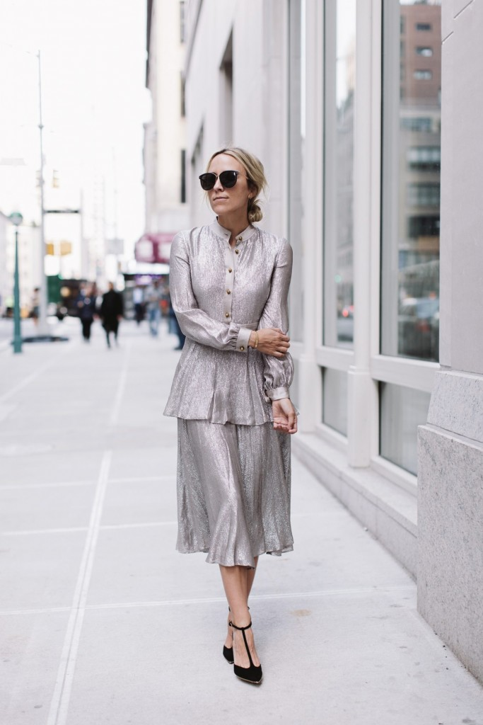 silver-wedding-guest-outfit