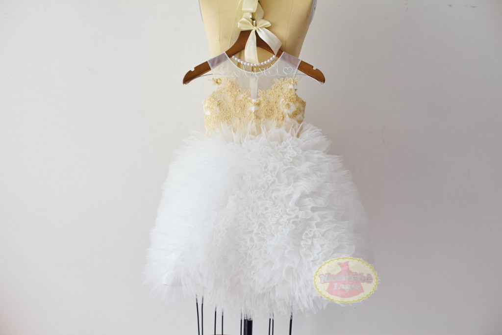 white-and-gold-embroidered-tulle-ruffle-flower-girl-dress
