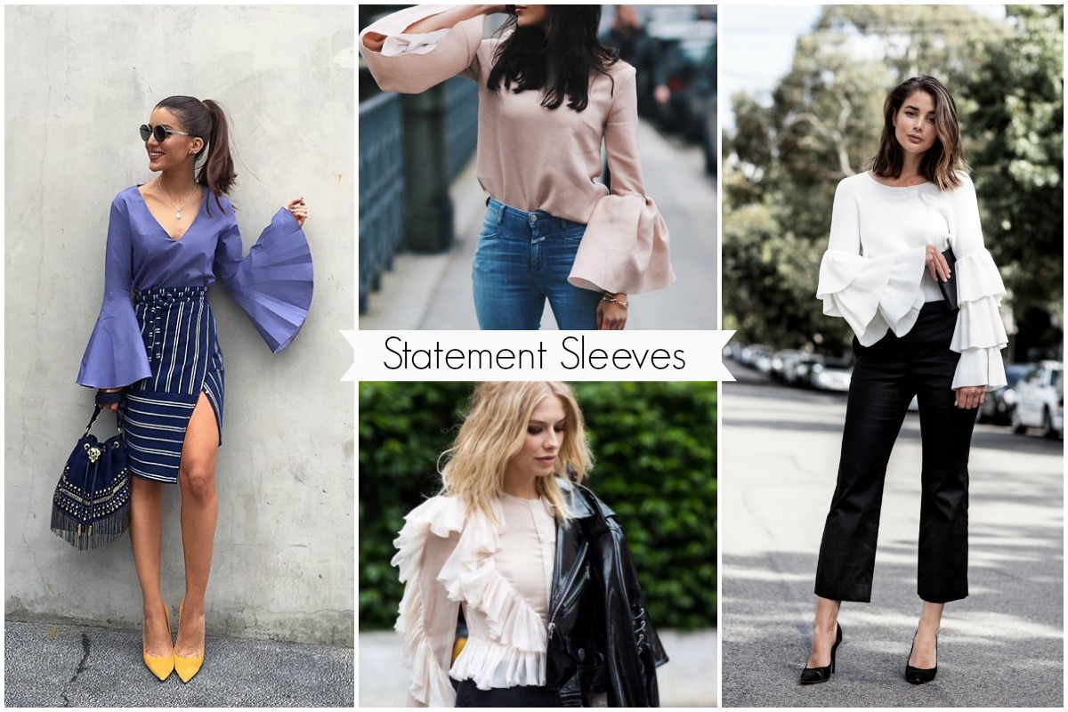 Trend Watch: Swing into Style with Statement Sleeves - Perfete