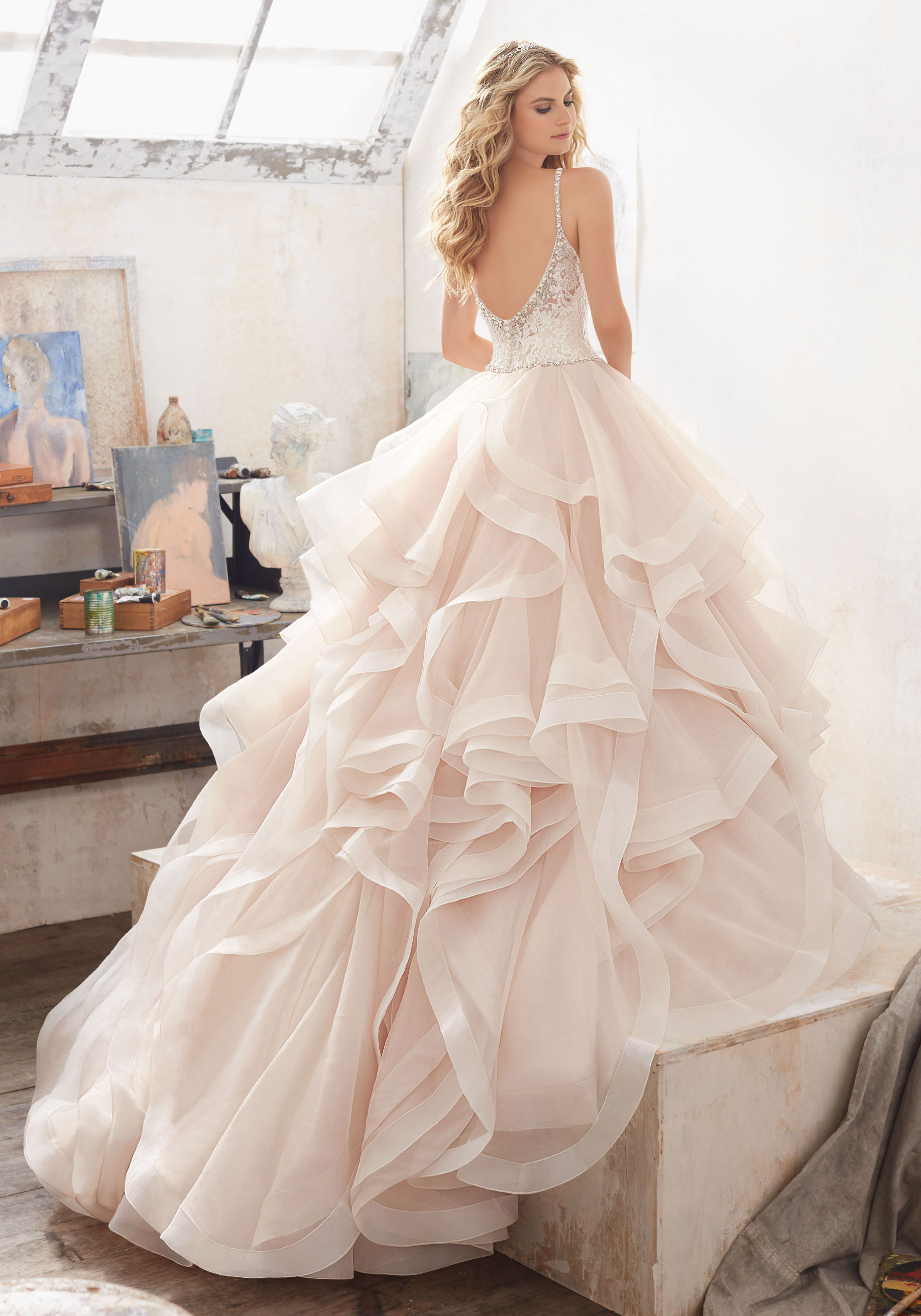 Mori Lee Wedding Dress 2603 700 Price Negotiable