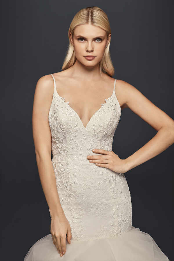 2214a698036 Truly Zac Posen Spring 2017 Collection at David s Bridal - Perfete