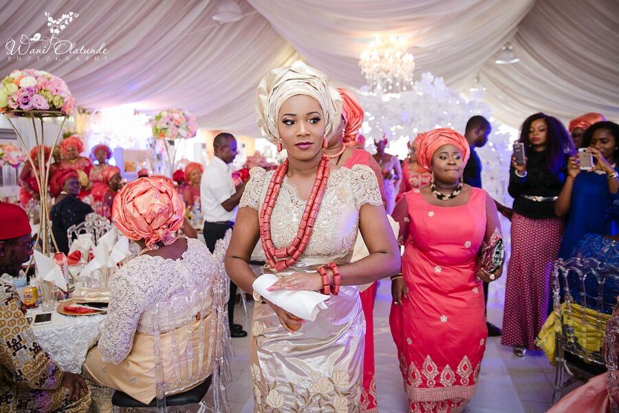 d86c8a5d0cb Beautiful Igbo Traditional Wedding at BICS Garden in Lekki