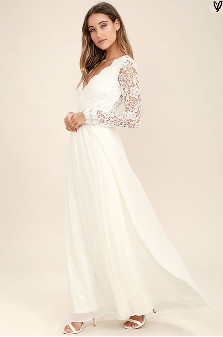 Wedding Dresses With Sleeves Under 500 : Wedding dresses under by lulus aisle perfect