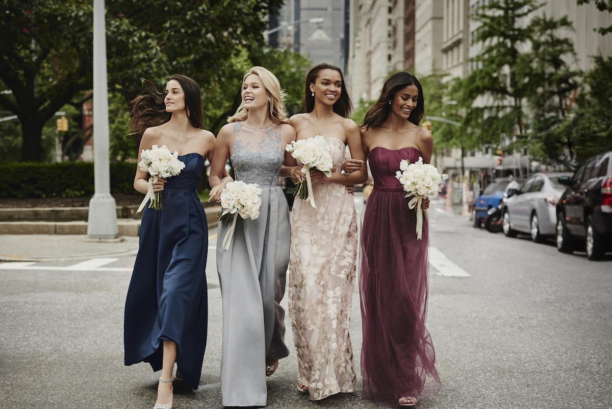 940abddb99 PrettyPerfect Fall Bridesmaid Dresses by Oleg Cassini - Perfete