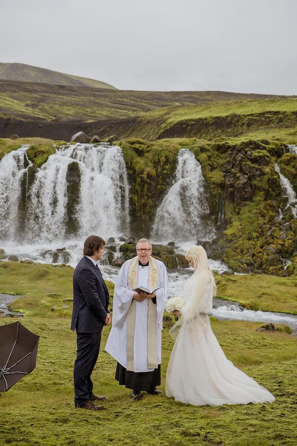 Breathtaking Icelandic Highland Wedding Perfete