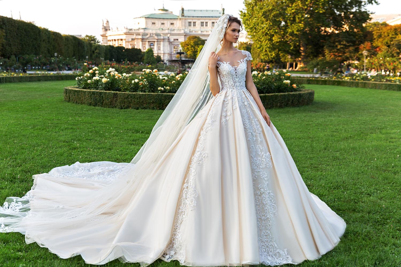 Ballgown from Crystal Design Couture Royal Garden Collection