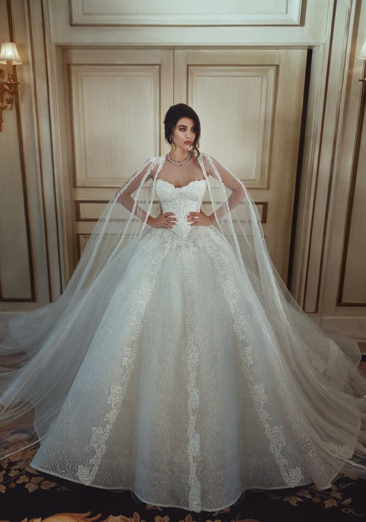 Sadek Majed Bridal 2018 Collection -3