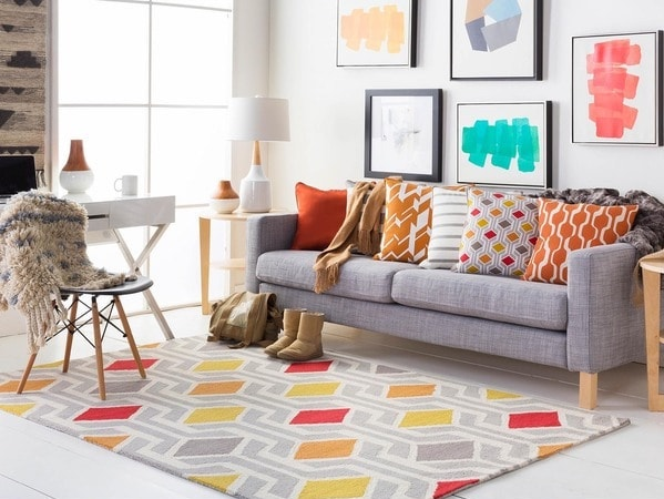 Colorful Statement Rug