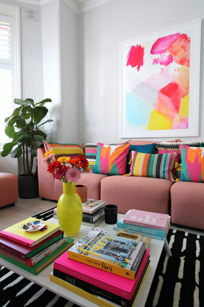 Large colorful art
