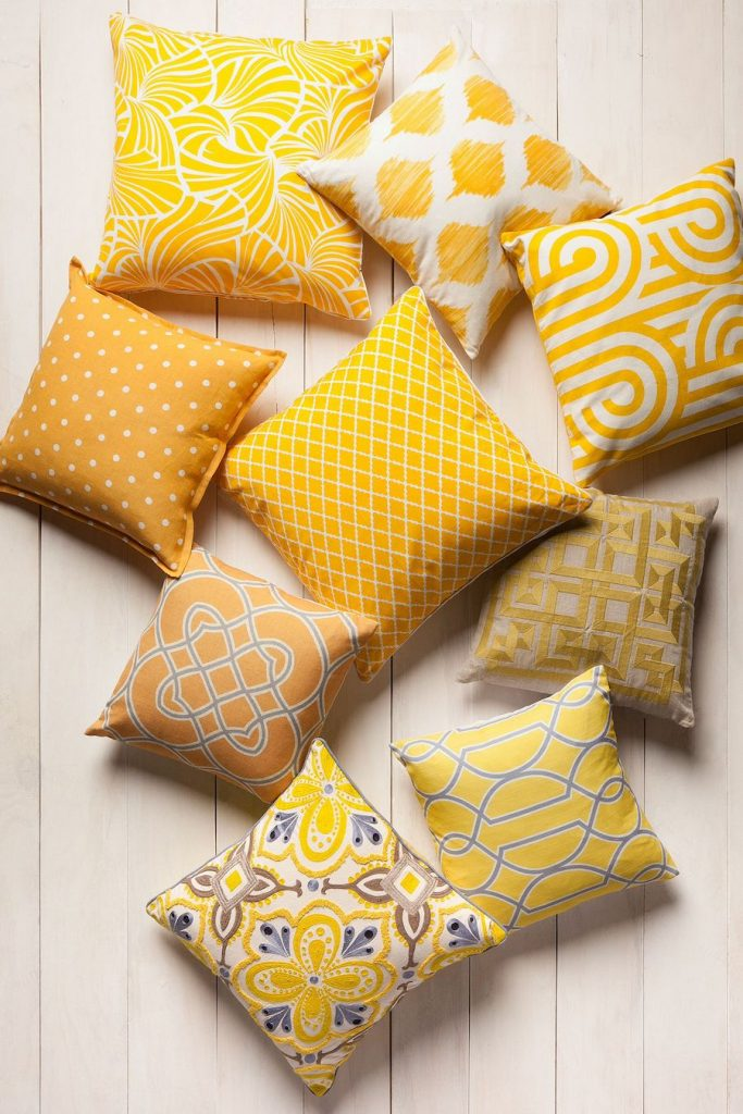 Yellow Pillow Cushions