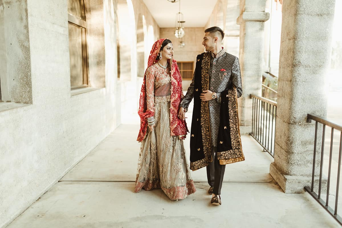 Indian Pakistani wedding fashion
