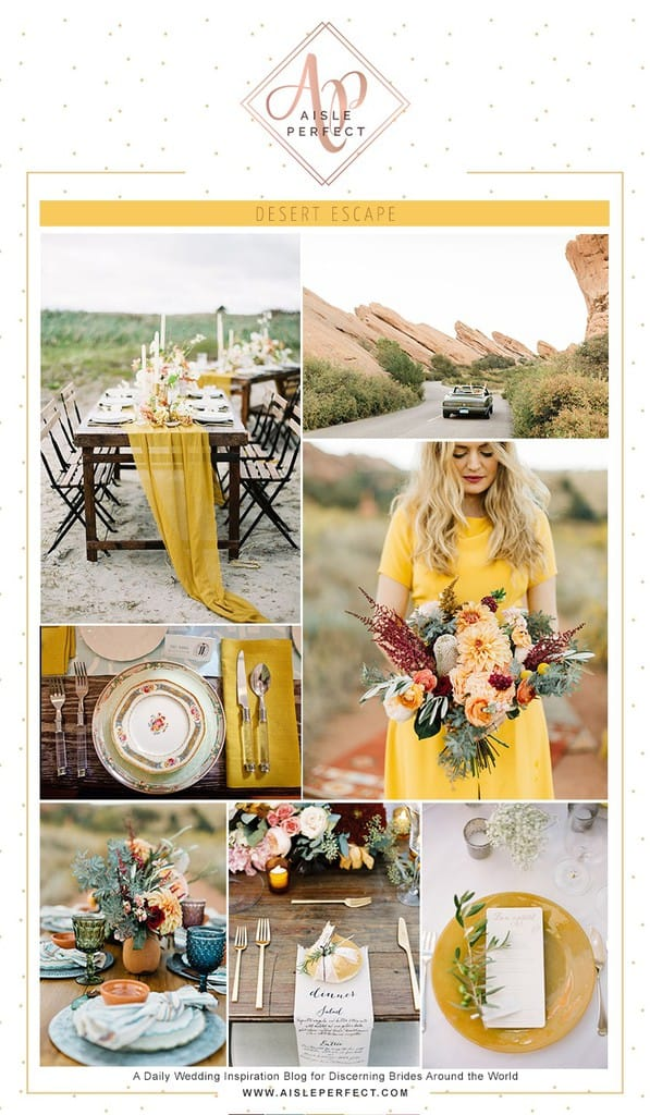 Coachella Desert Wedding Inspiration