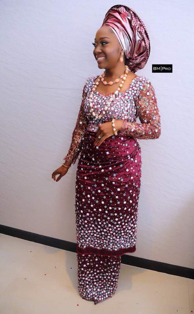 Double wrapper igbo bride