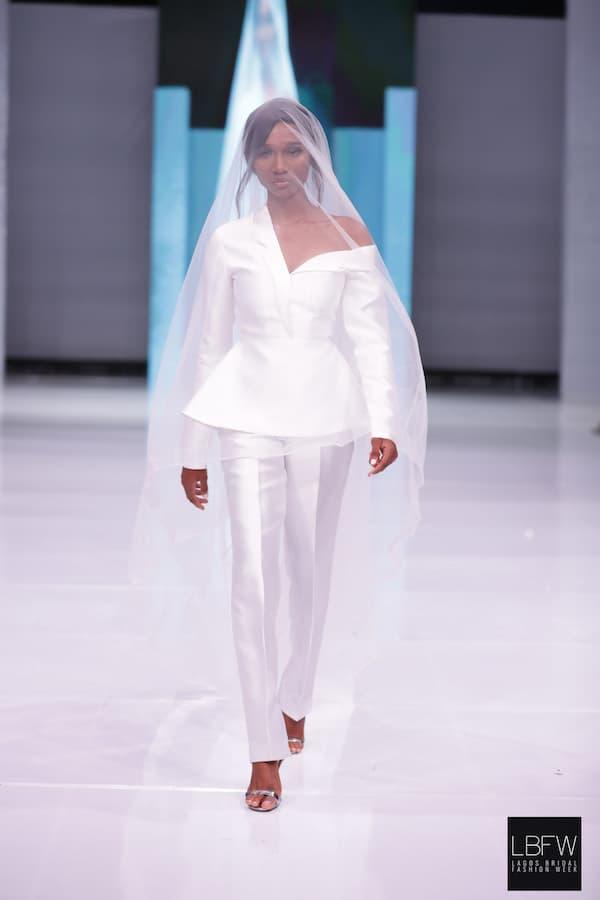 Bridal Pantsuit Imad Eduso_ Lagos Fashion Week