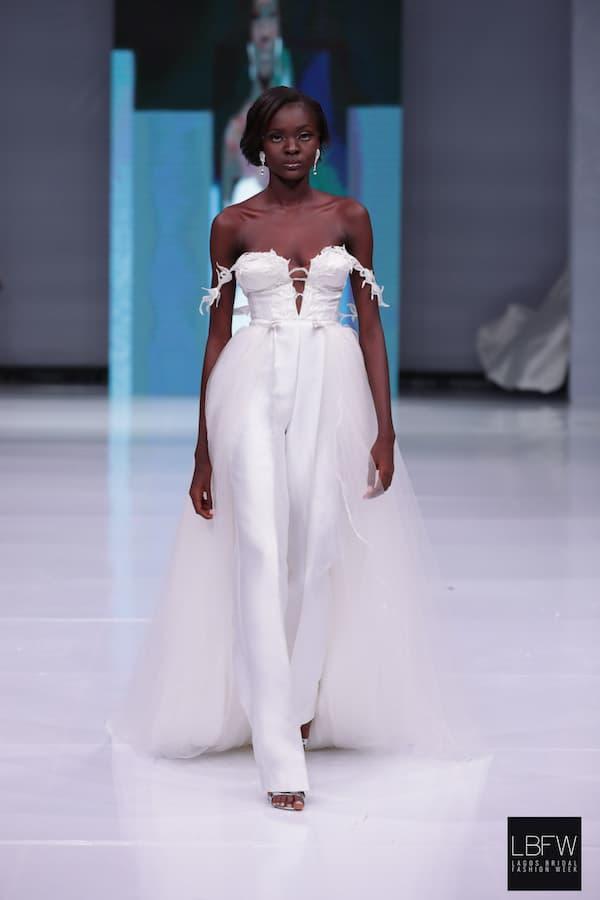 Cold Shoulder Bridal Jumpsuit_ Imad Eduso