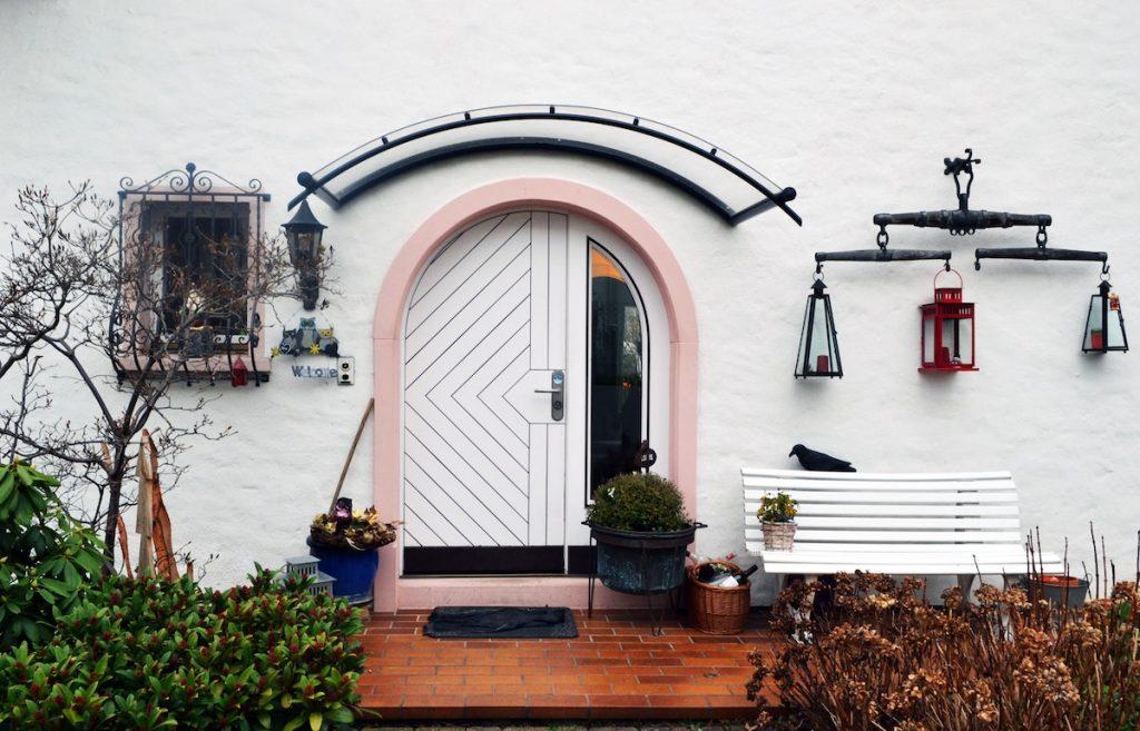 color block exterior home
