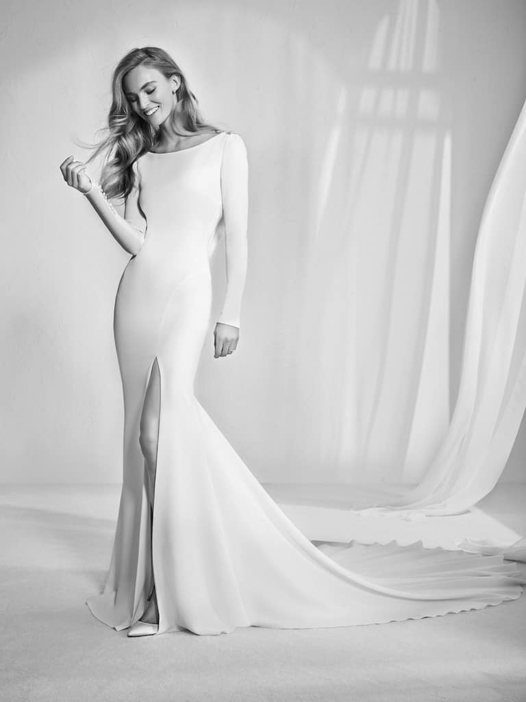 Meghan Markle inspired gown