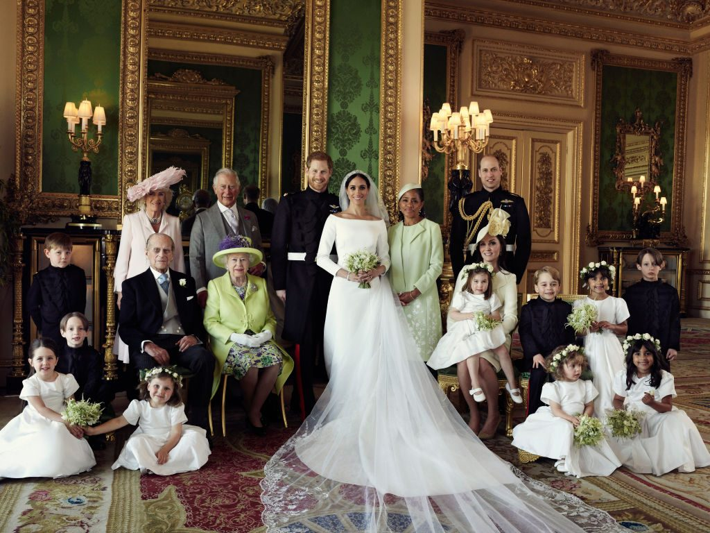 Group Royal Wedding Photography - Duke and Duchess of Sussex