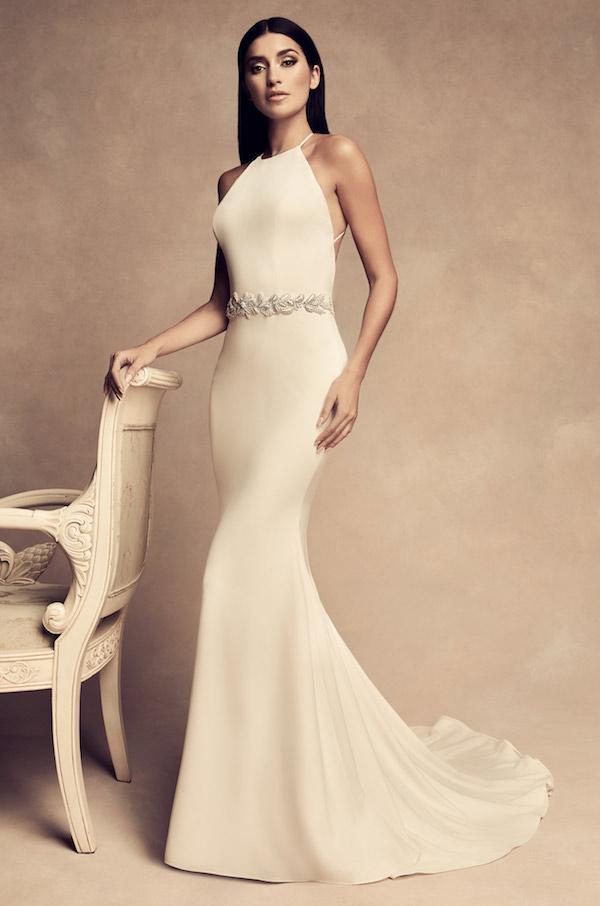 Royal wedding reception dress look alike- paloma blanca