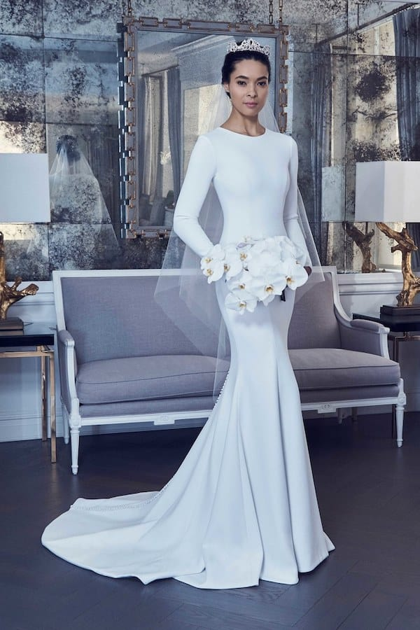 Romona Keveza Long Sleeve Wedding Dress RK9404