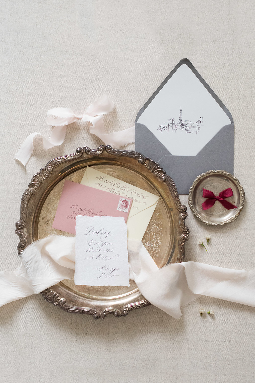 Chic Styled Shoot At Le Bristol Hotel In Paris Perfete