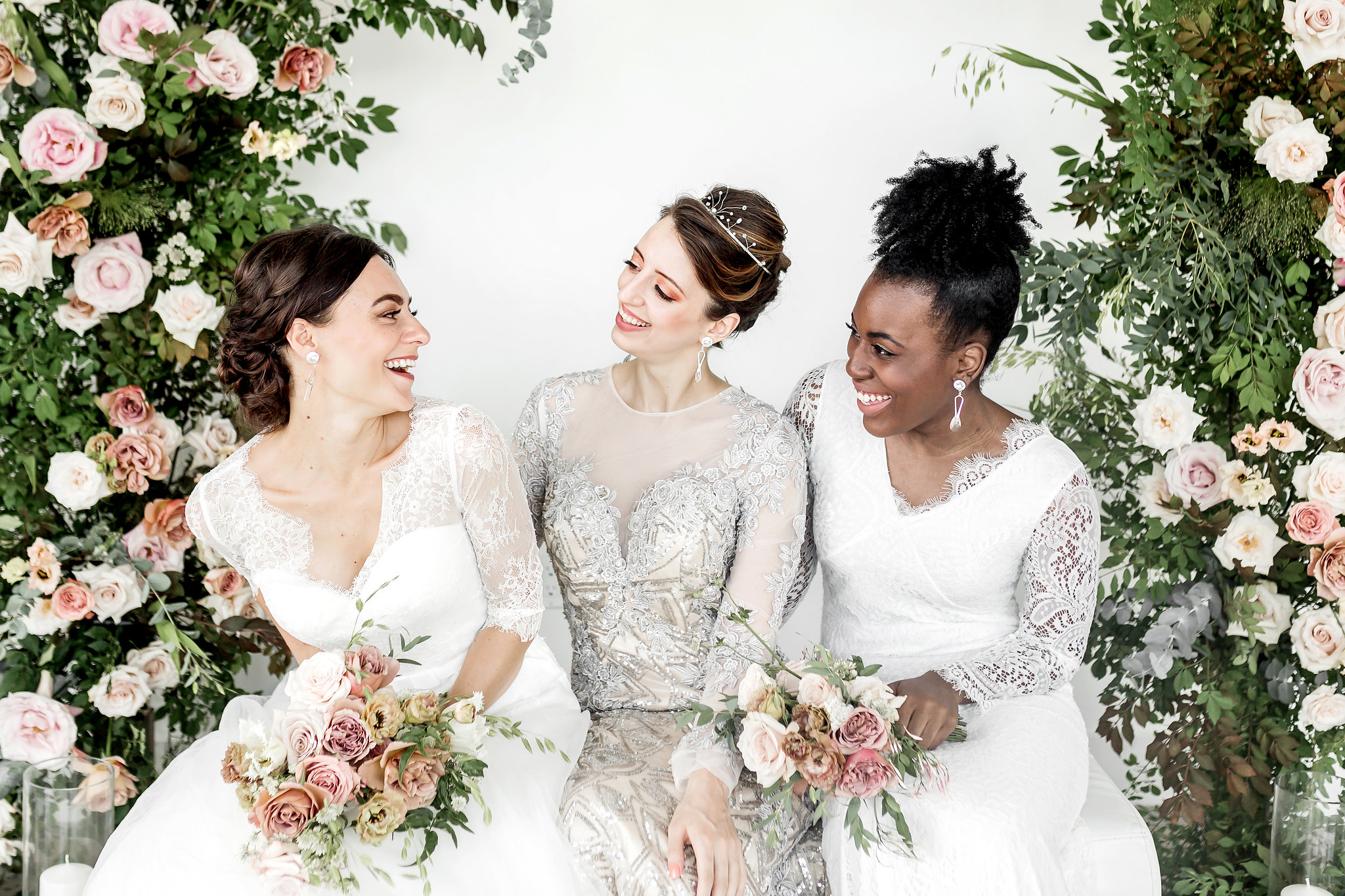 Manhattan Skyline Styled Shoot with 3 Bridal Looks - Perfete