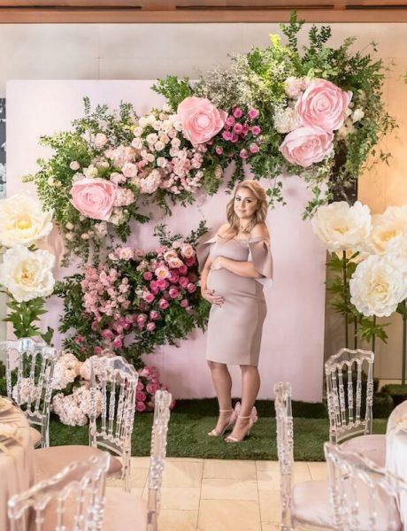 Pink Flowery Baby Shower by Chasing Pleasures 9