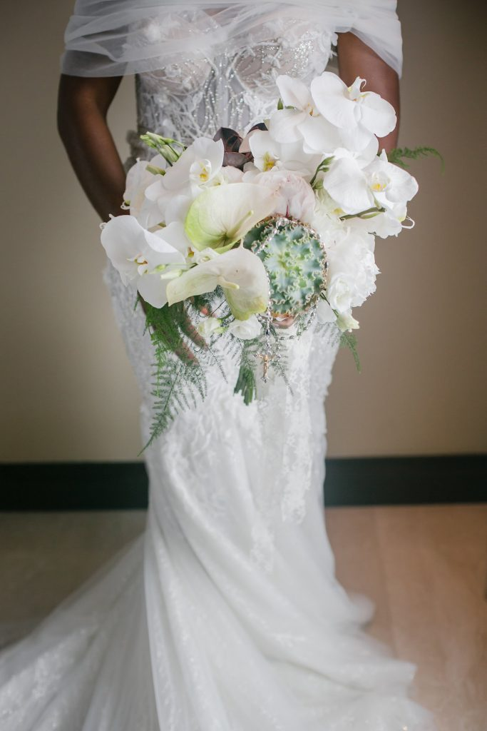 wedding bouquet aralia by nature