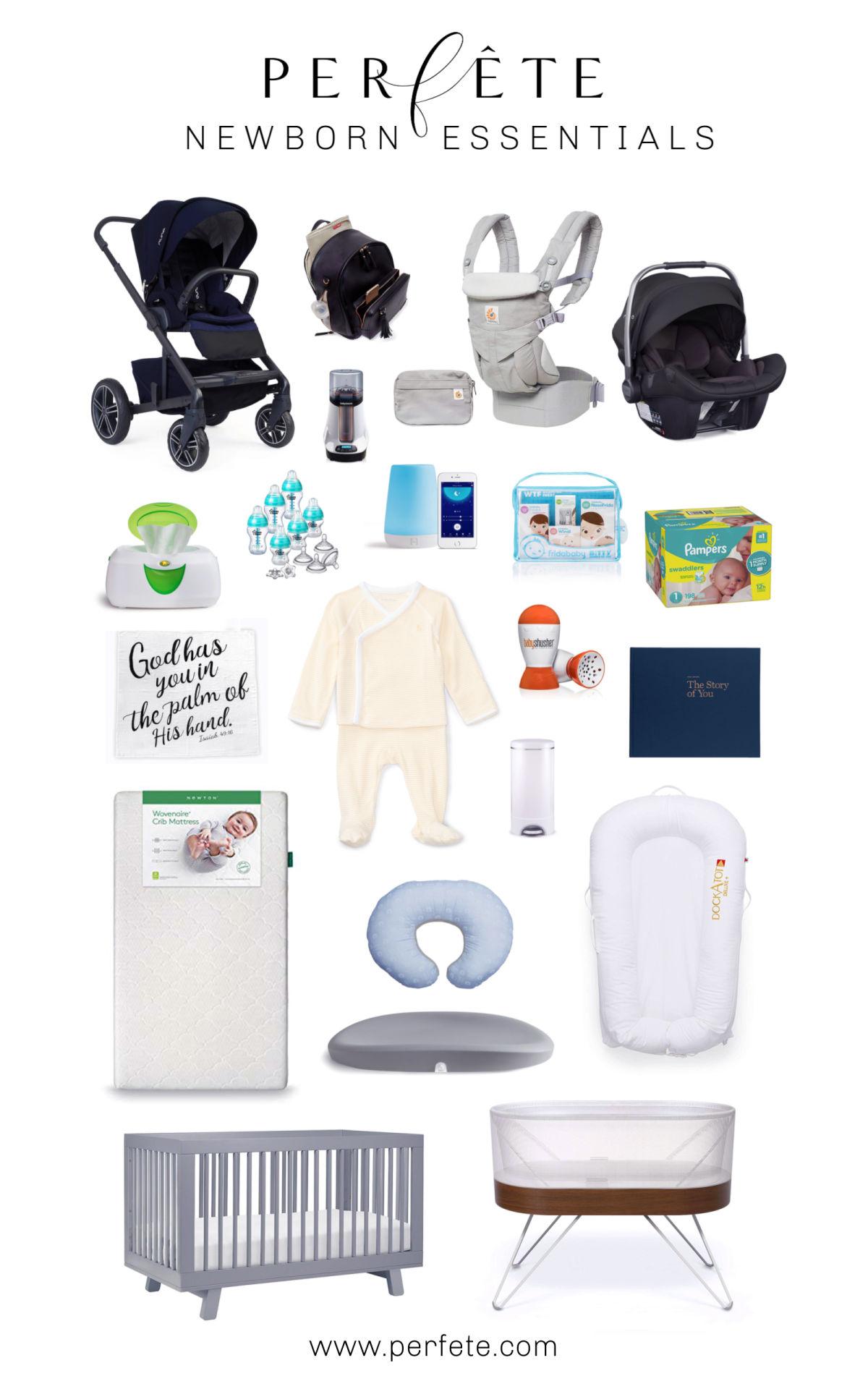 The Perfete newborn essentials baby list