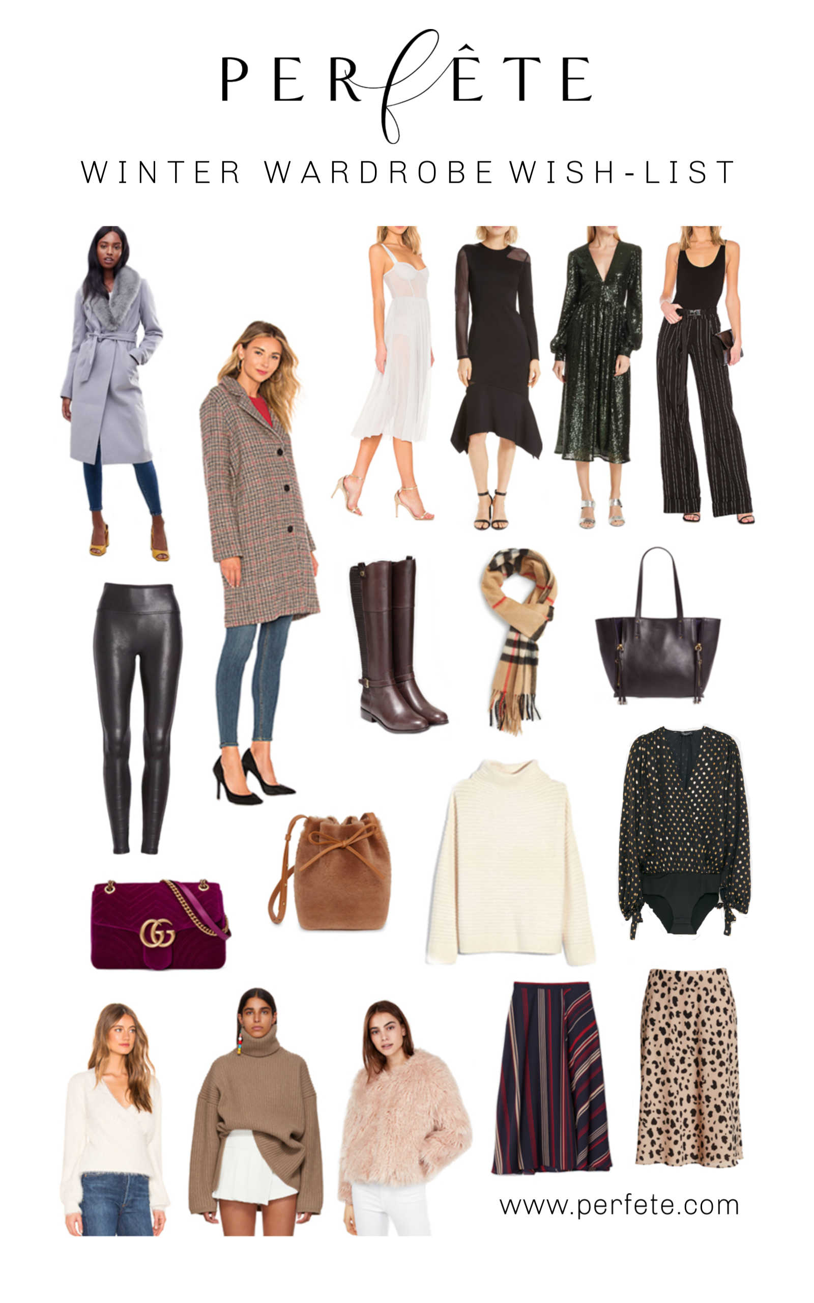 ce27822e7fe Our Winter Wardrobe Wish List - Perfete