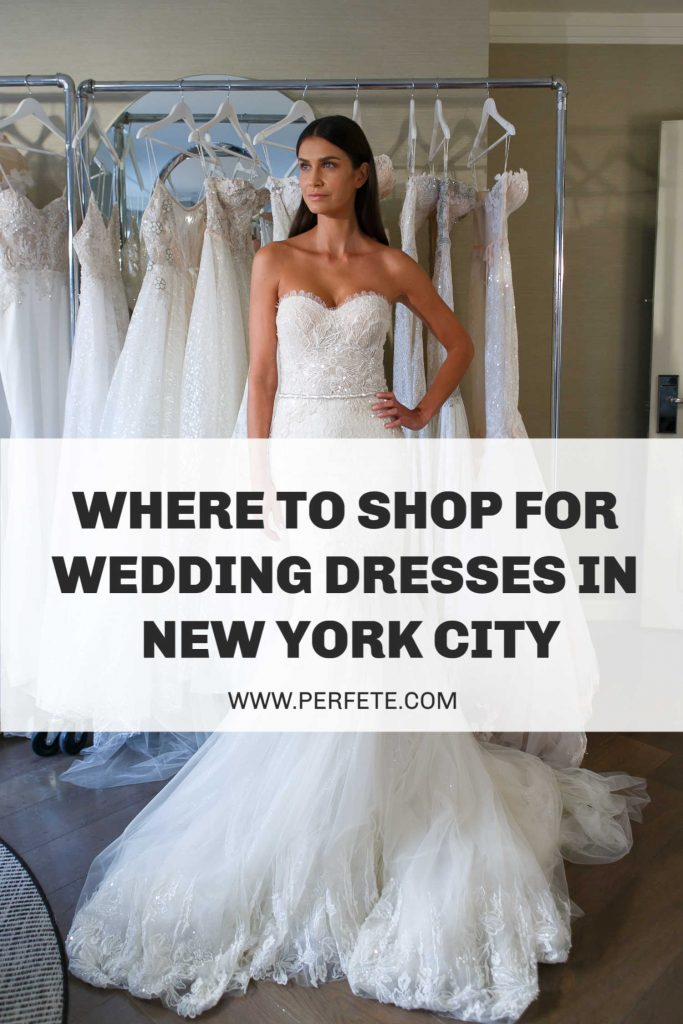 Where to shop for wedding dresses