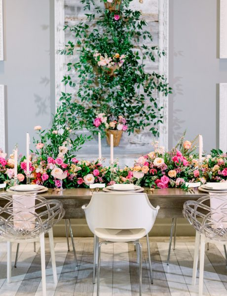 Spring Wedding Inspo with Gorgeous Pink & Greenery Details-10