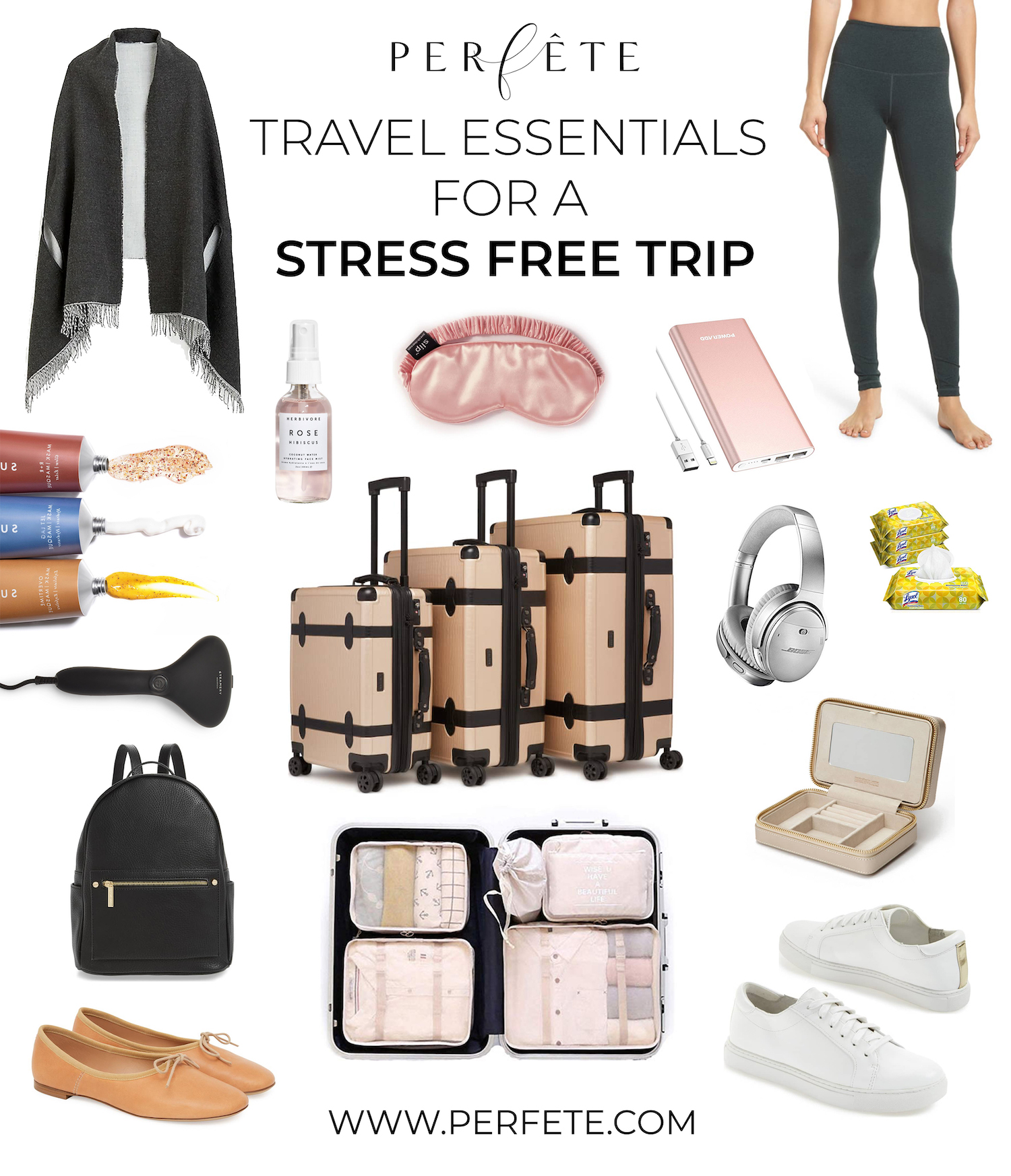 Travel Essentials - advice and travel tips for destination weddings and perfête travel planning