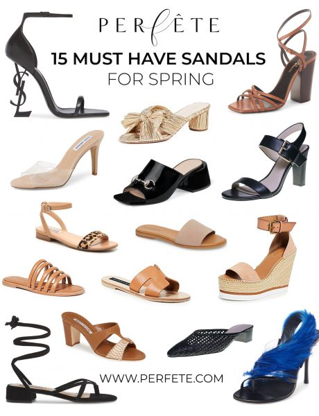 15 Must Have Sandals for Spring
