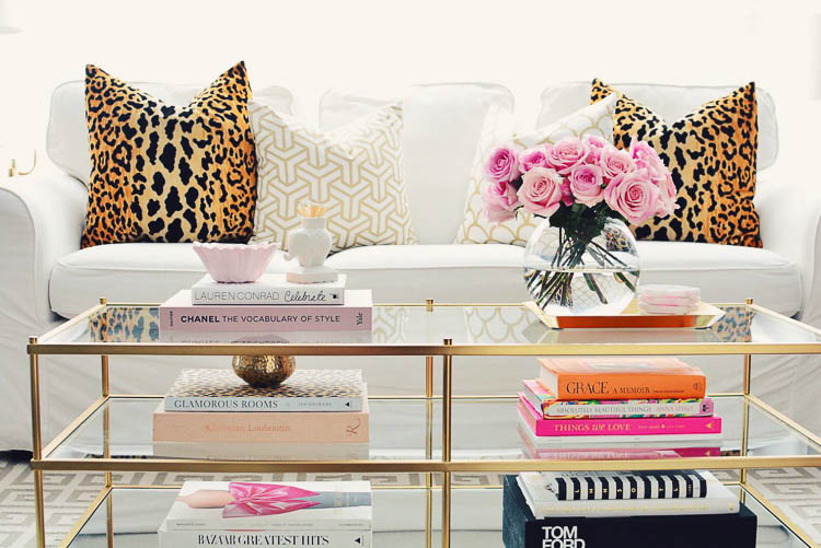 Add a few coffee table looks to elevate your living room decor (and your worldliness!)