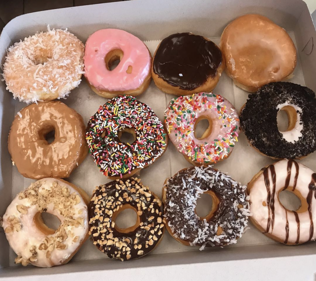 assorted donuts from Oahu food guide