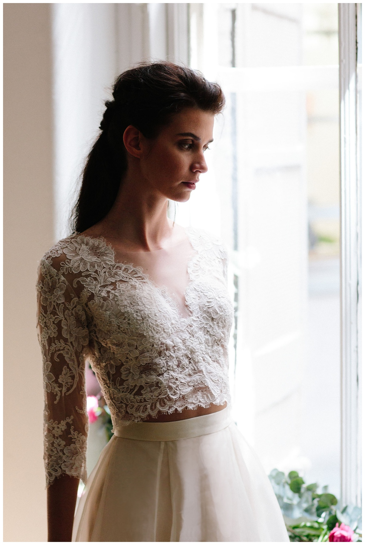 sustainable wedding dress and eco friendly option for brides who want green wedding inspo