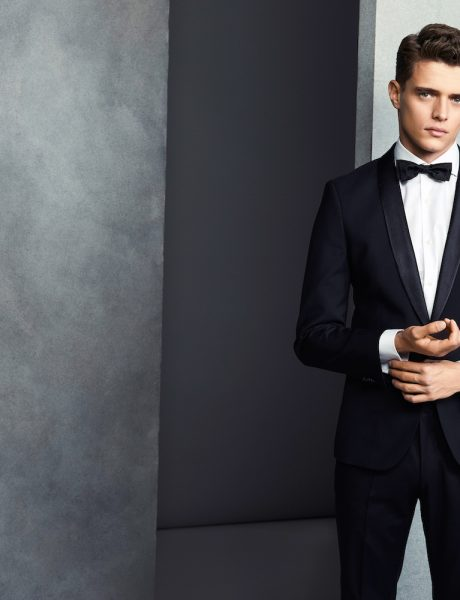 Groom and Groomsmen style by Hugo Boss