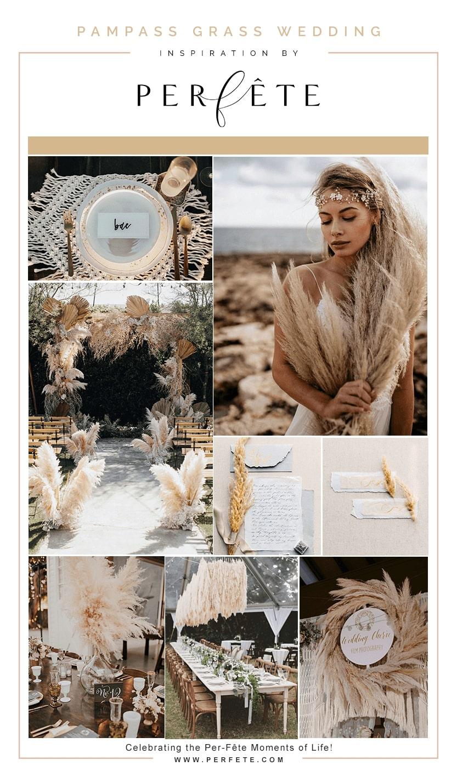 pampass grass wedding ideas