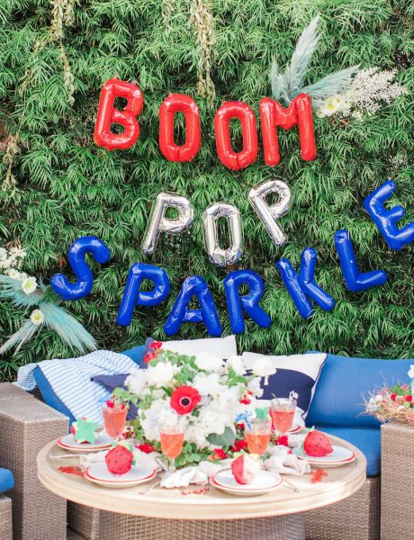 Red White & Berry Bright 4th of July Party Inspo-14