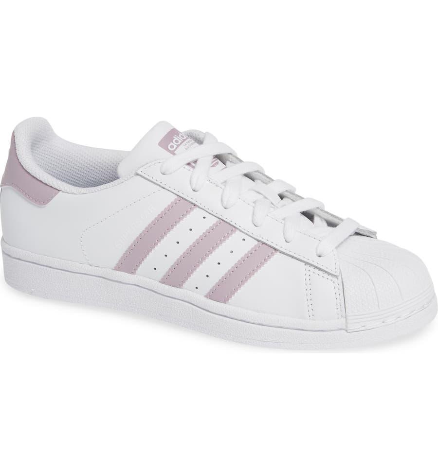 classic adidas stripes white sneaker