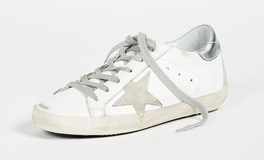 Golden Goose white sneakers