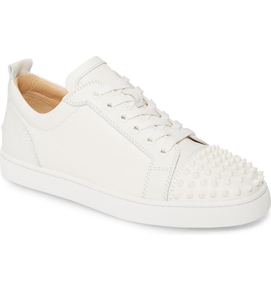 Christian Louboutin white sneakers