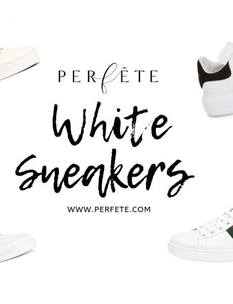 white sneakers trend for summer