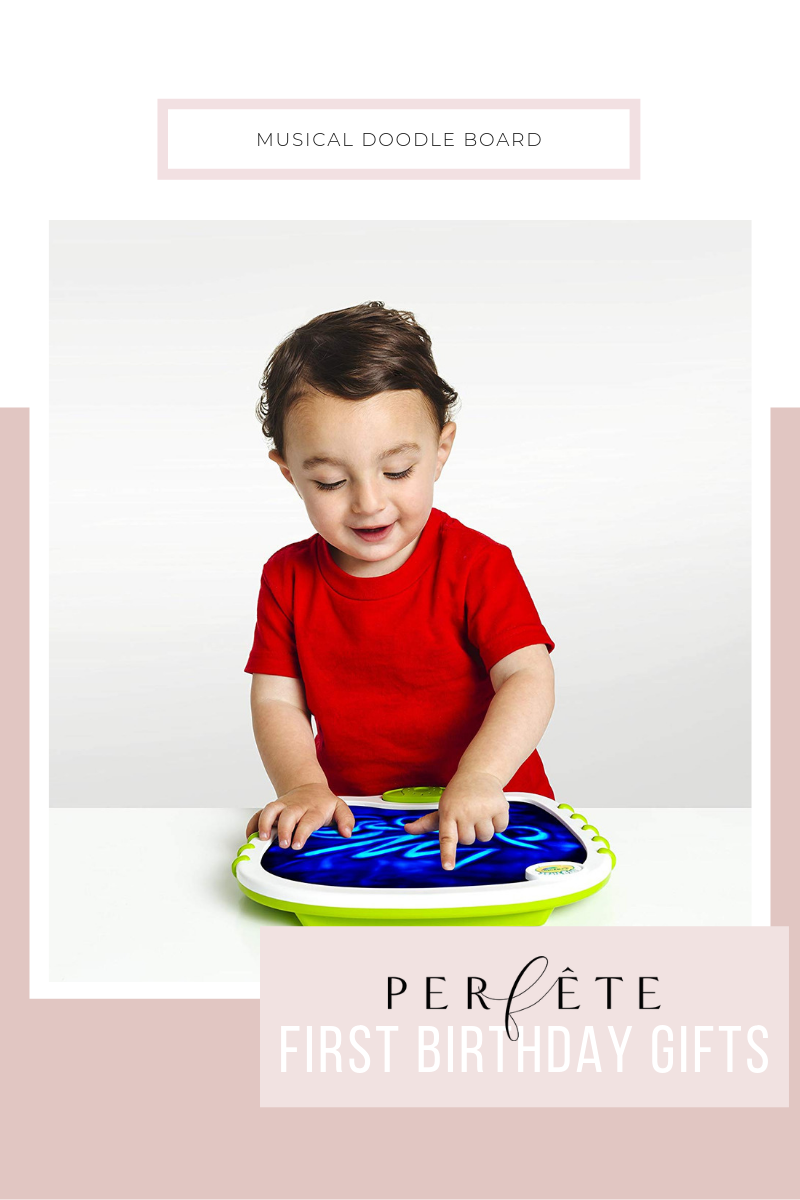 perfête gift guide for one year old - first birthday gift ideas - mess free doodle board by crayola