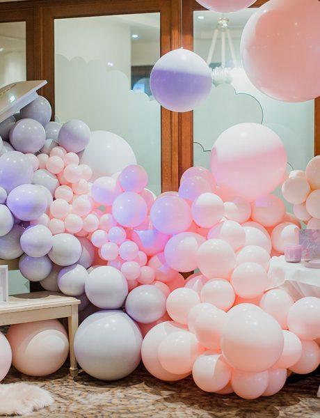 Stunning Pink & Lavender Christening-6