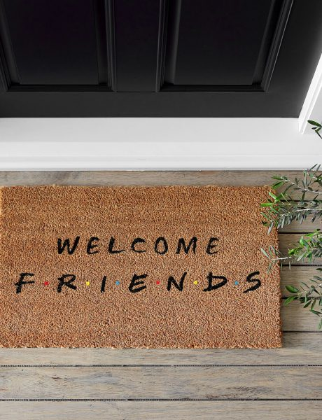 Friends Pottery Barn Doormat-2