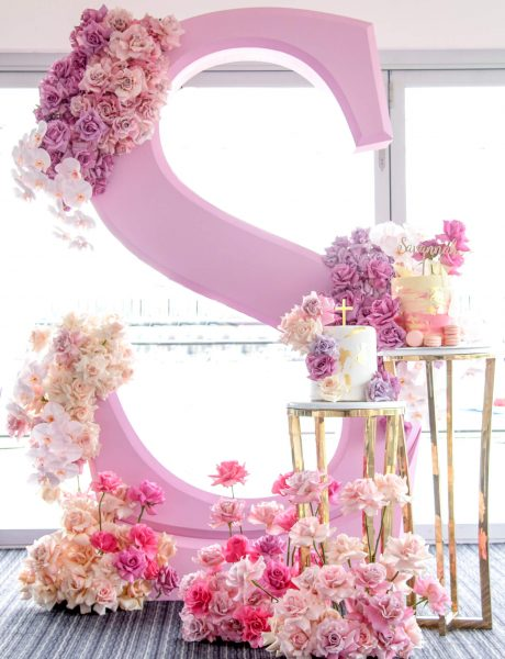 Stylish Pink Christening Decor by Sass Events-10
