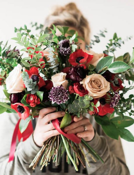 Fall Wedding Bouquet by All Grand Events Floral