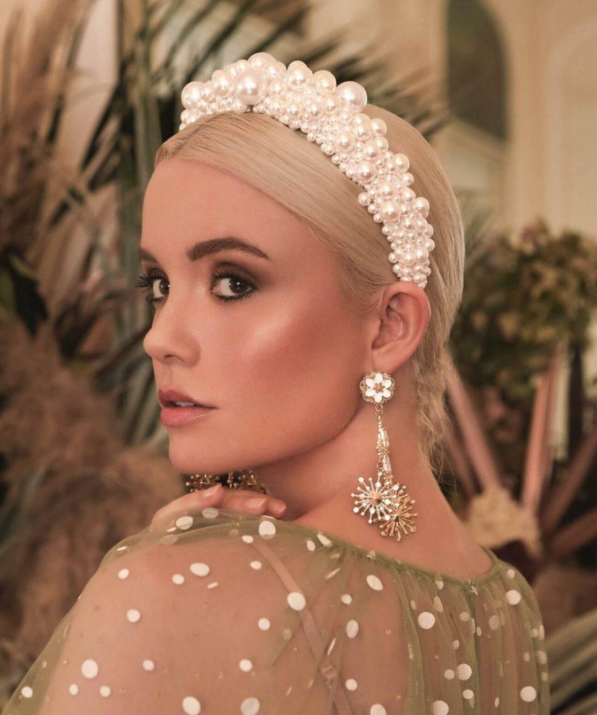 Large Pearl Crown Headband